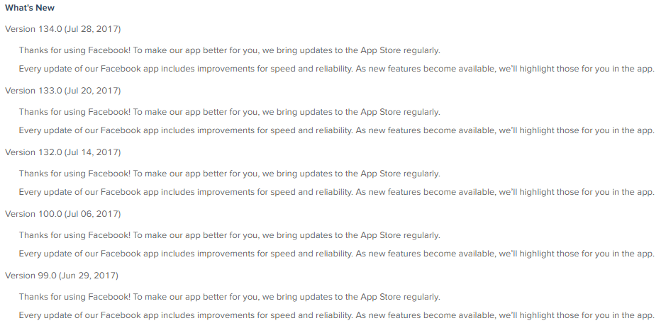 App Store Optimization - What's New